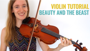 Beauty and the Beast Free Online Violin lesson