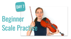 beginner course scale practice lesson